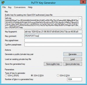 Ironport Automate Script Commands puttygen Putty Key Generator 3