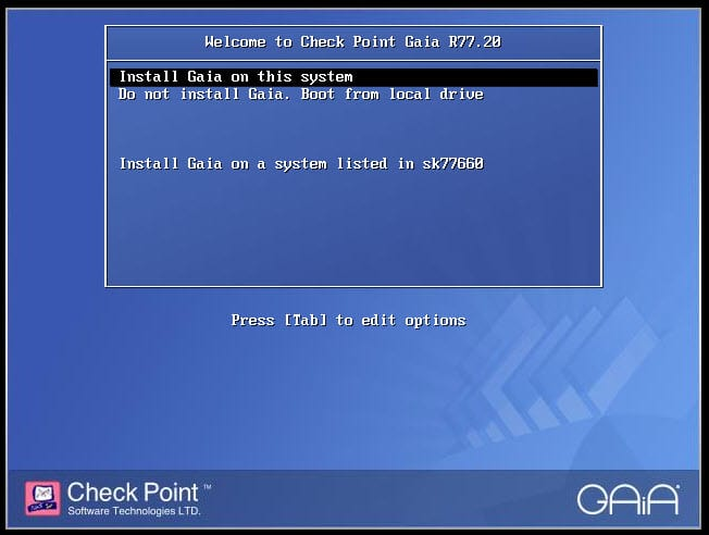 Checkpoint - Reinstall SMS using configuration backup