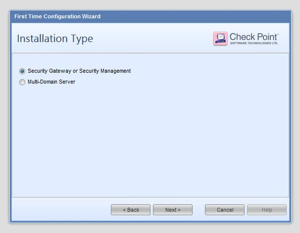 Checkpoint - Reinstall SMS using configuration backup 17