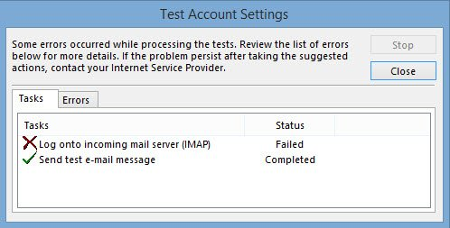 Exchange 2013 - IMAP NTLM authentication error - SomoIT net