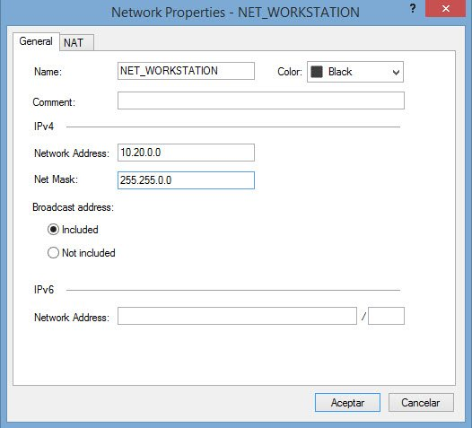 Configuring NAT in Checkpoint 1