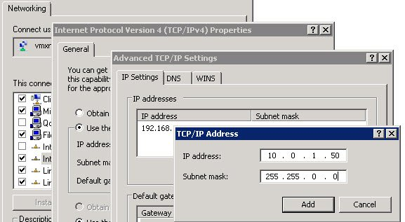 windows xp how to add the ipv4 protocol