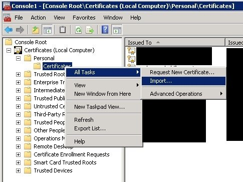 Windows - Renew certificate assigning the same private key - SomoIT.net