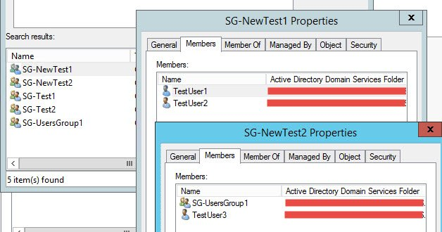 Windows – Powershell script to clone AD groups - New Groups