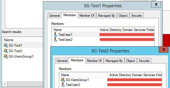Windows – Powershell script to clone AD groups - Old Groups