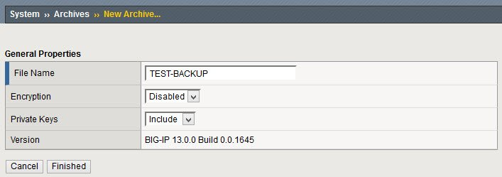 F5 BIG-IP - Automate backup of configuration files - SomoIT net