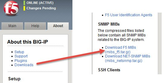 F5 BIG-IP – Useful SNMP oids to monitor - Download MIB file