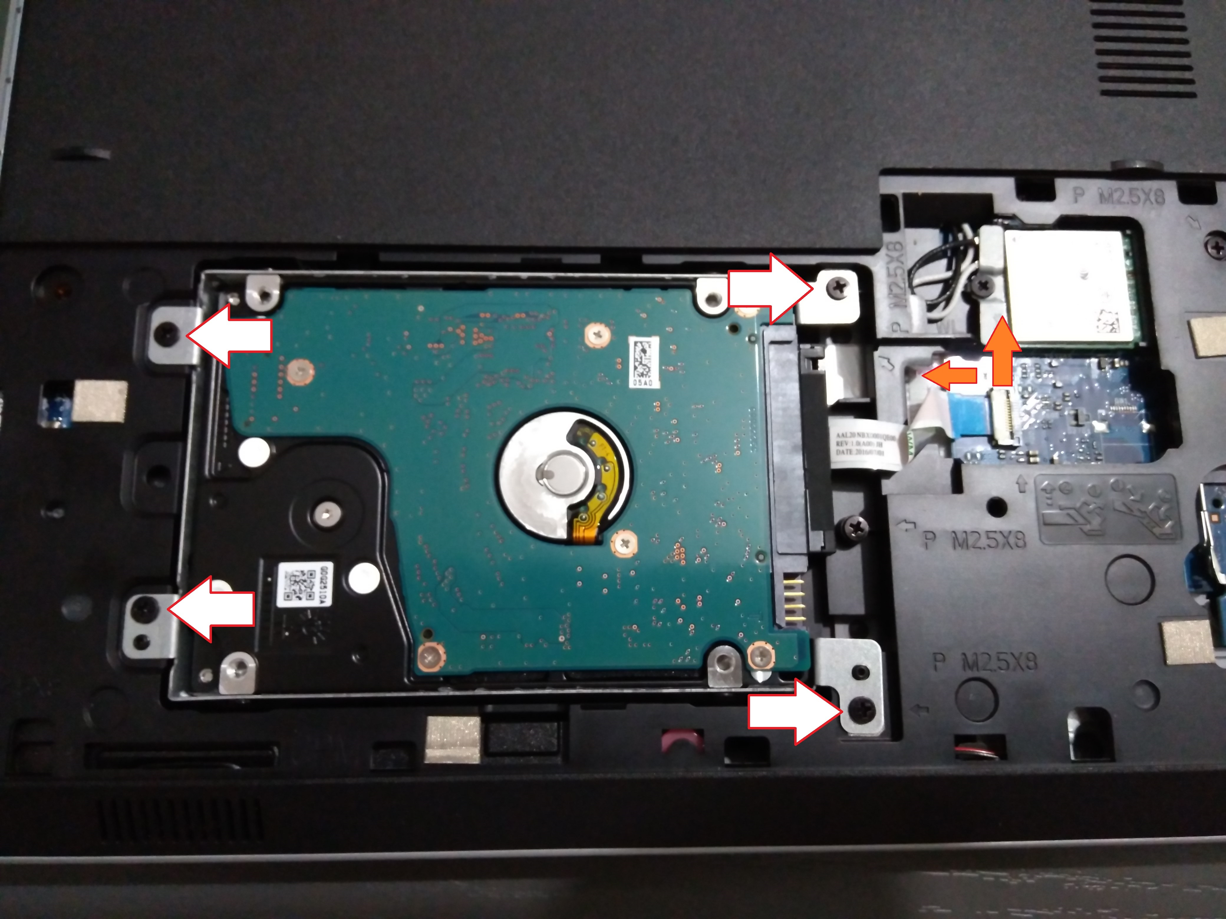 HW - Install SSD in laptop and replace DVD - SomoIT net