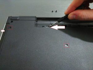 Dell Inspiron 5559 - Extracting DVD