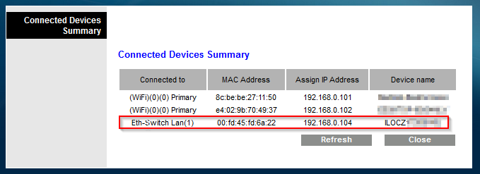 First steps configuring HP Microserver Gen8 - iLO DHCP assigned IP