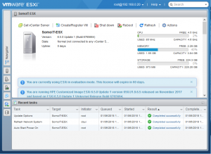 Home Server - Set up a home server - VMWare ESX
