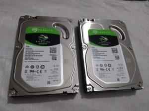 2TB Seagate Barracuda SATA disks