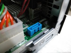 Install SSD to HP Microserver Gen8 - SATA data port