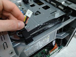Install SSD to HP Microserver Gen8 - SATA power cable