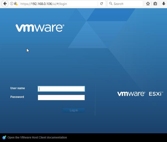 Home Server (5) – VMWare ESXi 6 5 installation - SomoIT net