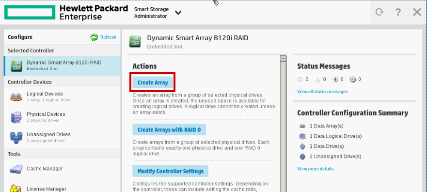 Home Server (6) - Create RAID1 disk array - SomoIT net